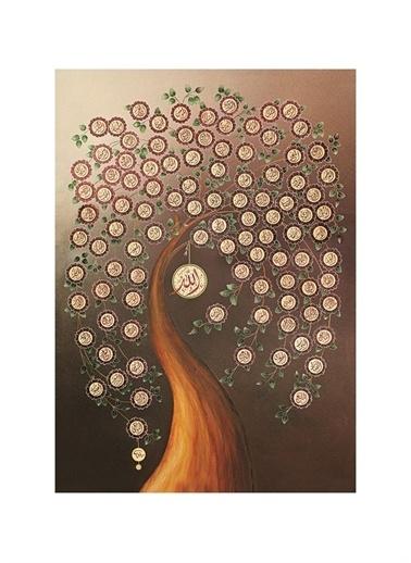 Art Puzzle Art Puzzle Allah' In 99 Ismi 1000 Parça Puzzle  Renksiz